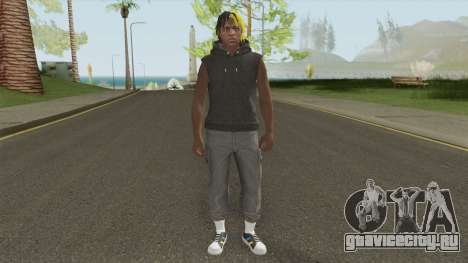 Skin Random 7 (XXXTentacion) для GTA San Andreas