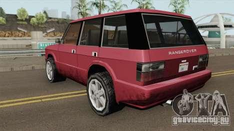 Land Rover Range Rover (Huntley Edit) SA Style для GTA San Andreas