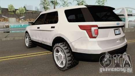 Ford Explorer 2018 для GTA San Andreas