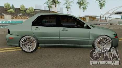 Mitsubishi Lancer Evolution IX (SA Style) для GTA San Andreas