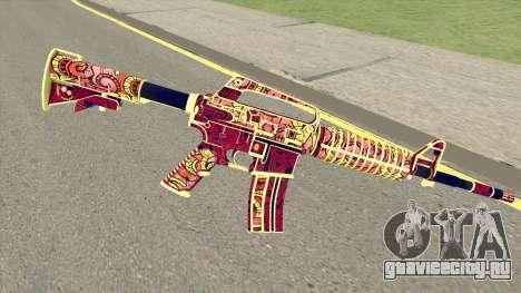 CS:GO M4A1 (Soultaker Skin) для GTA San Andreas