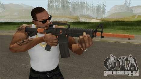 CS:GO M4A1 (Orange Accents Skin) для GTA San Andreas