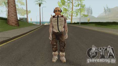 Zombie With Arena War Outfit для GTA San Andreas