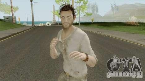 Nathan Drake From Uncharted 3 для GTA San Andreas