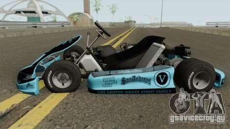 Shifter Kart 125CC для GTA San Andreas