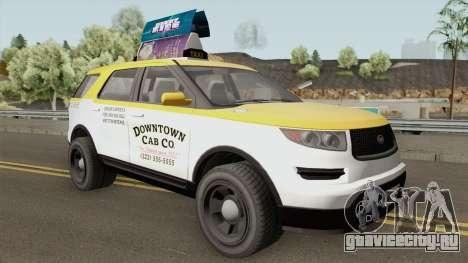 Vapid Scout Taxi GTA V IVF для GTA San Andreas
