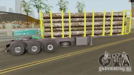 Trailer B-Doble Timber для GTA San Andreas