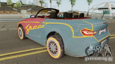 ROS Rosy Comet Car для GTA San Andreas