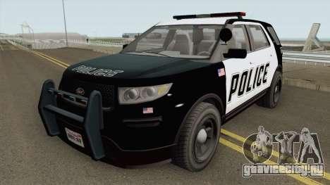 Vapid Police Cruiser Utility GTA V IVF для GTA San Andreas