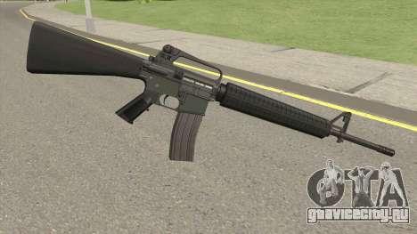 M16A2 Default Design (Ext Mag) для GTA San Andreas