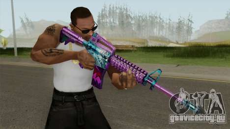 SFPH Playpark (Ghost M4A1) для GTA San Andreas