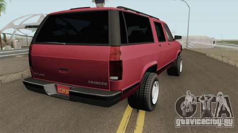 Declasse Granger 3500LX Retro Limited для GTA San Andreas