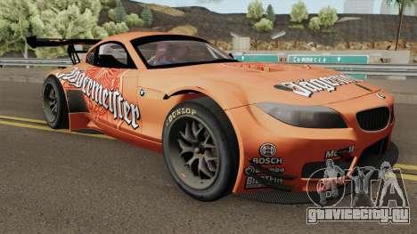 BMW Z4 GT3 2010 Jagermeister для GTA San Andreas