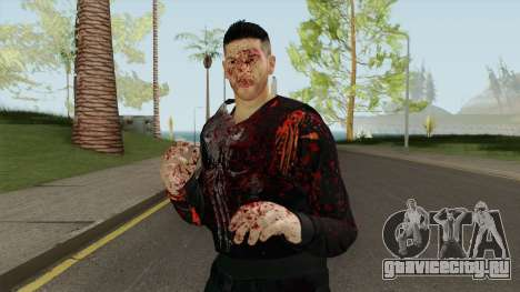 The Punisher V3 (Blood Retextured V2) для GTA San Andreas