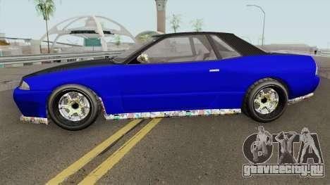 Annis Elegy Custom GTA V для GTA San Andreas