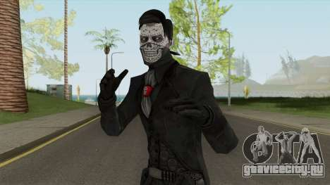 Erron Black (Without Hat) From Mortal Kombat X для GTA San Andreas