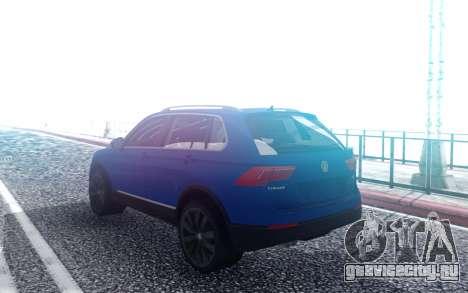 Wolksvagen Tiguan 2018 для GTA San Andreas