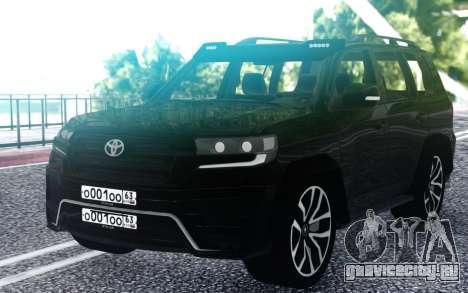 Toyota LC 200 для GTA San Andreas