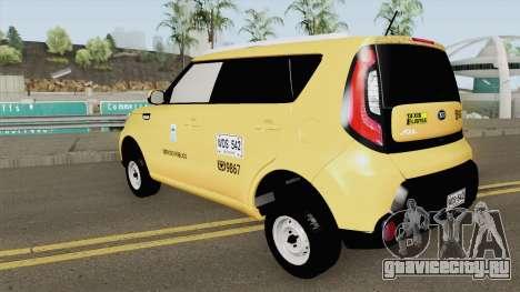 Kia Soul 2015 Taxi Colombiano для GTA San Andreas
