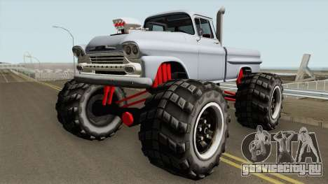Chevrolet Apache Monster Truck 1958 для GTA San Andreas