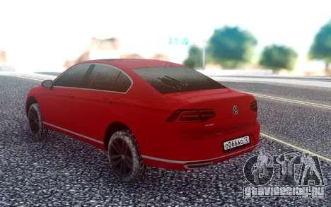 Volkswagen Passat B8 для GTA San Andreas