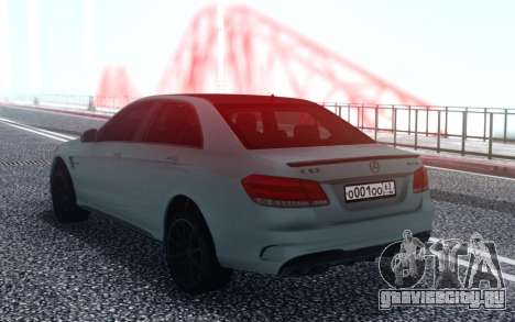 Mercedes-Benz AMG E63 4MATIC Sedan для GTA San Andreas