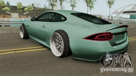 Jaguar XKR-S Stance для GTA San Andreas