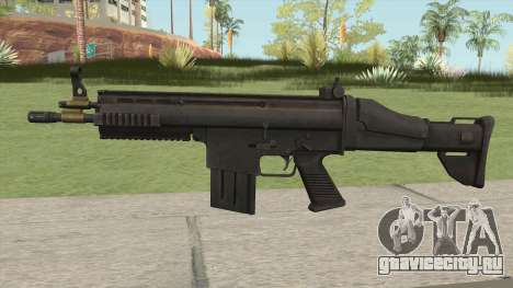 Battlefield 3 SCAR-H для GTA San Andreas