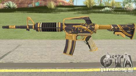 CS:GO M4A1 (Snakebite Gold Skin) для GTA San Andreas