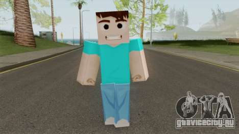 Steve HD для GTA San Andreas