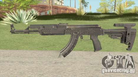 Tactical AK47 для GTA San Andreas