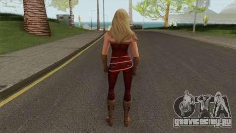 Wondergirl Legendary From DC Legends для GTA San Andreas