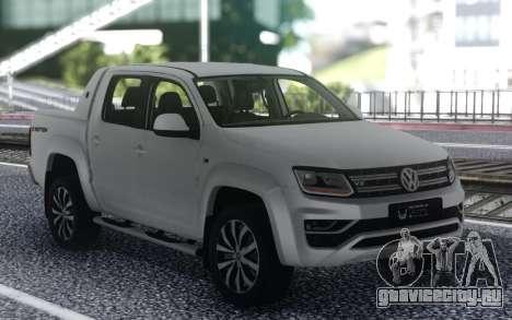 Volkswagen Amarok для GTA San Andreas