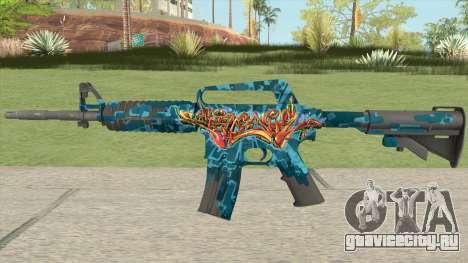CS:GO M4A1 (Silence Skin) для GTA San Andreas