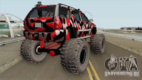 GMC Yukon Monster Truck Camo 2008 для GTA San Andreas