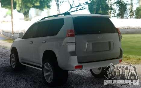 Toyota Land Cruiser Prado для GTA San Andreas