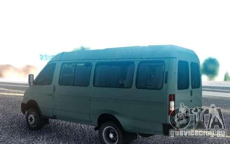 ГАЗель 3221 2007 года для GTA San Andreas
