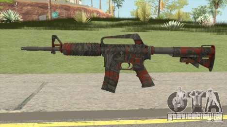 CS:GO M4A1 (Redtiger Skin) для GTA San Andreas