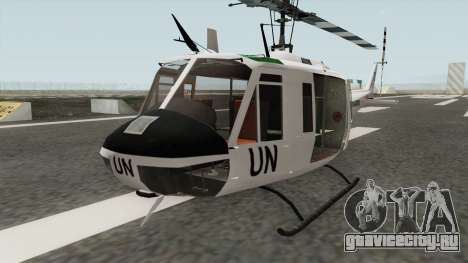 Bell UH-1 Huey United Nations для GTA San Andreas