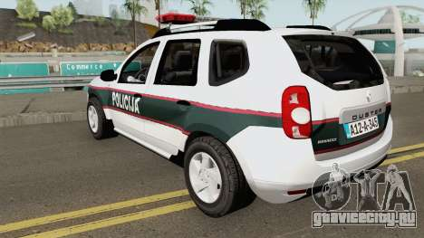 Renault Duster Policija Bih для GTA San Andreas
