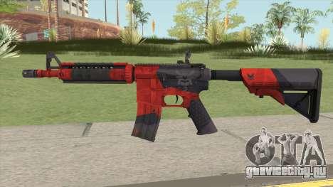 CS-GO M4A4 Evil Daimyo для GTA San Andreas