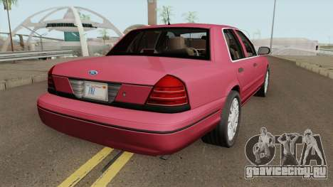 Ford Crown Victoria Civil для GTA San Andreas