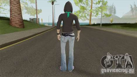 Sis From Alpha Protocol для GTA San Andreas