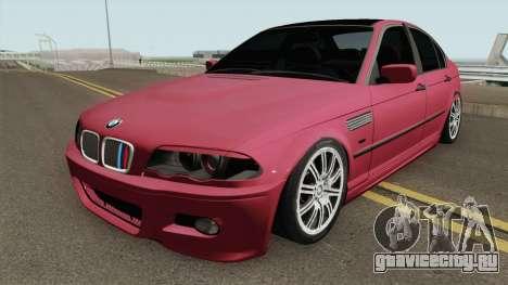 BMW E46 Romania для GTA San Andreas