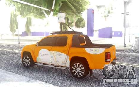 Volkswagen Amarok V6 Яндекс.Карты для GTA San Andreas