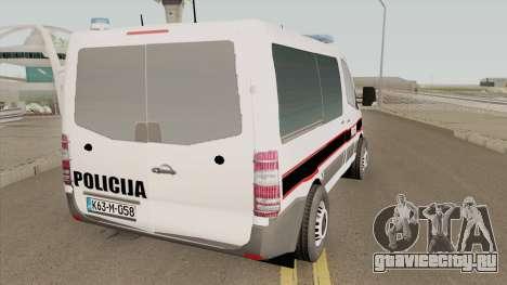 Mercedes-Benz Sprinter POLICIJA BiH для GTA San Andreas