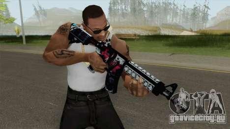 CSGO M4A4 Neo Noir для GTA San Andreas