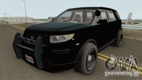 Vapid Police Cruiser Unmarked GTA V IVF для GTA San Andreas