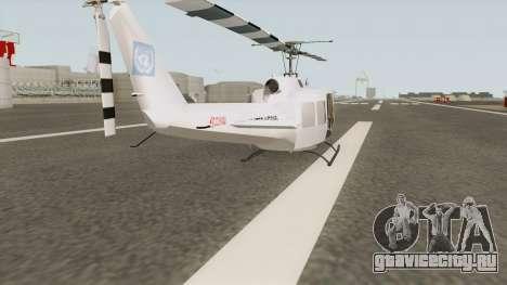 Bell UH-1 Huey United Nations для GTA San Andreas