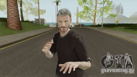 David Beckham Skin для GTA San Andreas